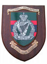 3 rd Irish Regiment Down and Armagh Military Wall Plaque Shield